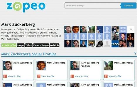 Zopeo. Un autre moteur de recherche de personnes. | François MAGNAN  Formateur Consultant | Scoop.it