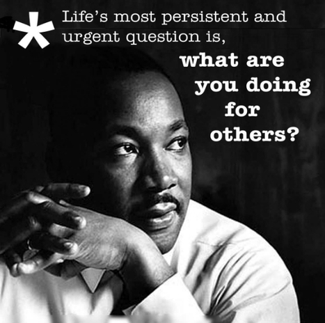 Dr. King: a True Servant Leader | Daring Ed Tech | Scoop.it