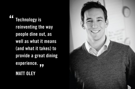 How Tech is Changing the Way Restaurants Manage the Dining Experience » Food+Tech Connect | Food+Tech | Scoop.it