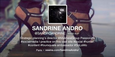 #FollowFriday Sandrine Andro | ESocial | Scoop.it