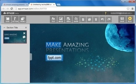Create Amazing Interactive Presentations From Your Browser With Emaze | Sites for Educators | Scoop.it