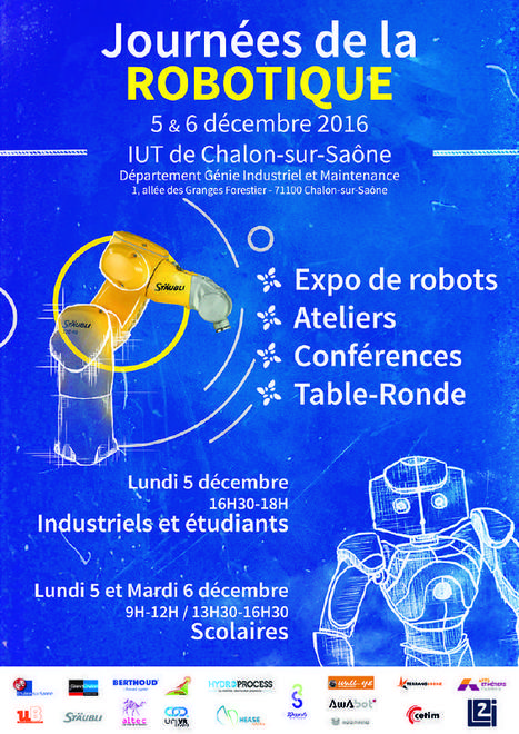 Deux journées dédiées à la robotique organisées à l'IUT de Chalon sur Saône | On parle des IUT | Scoop.it