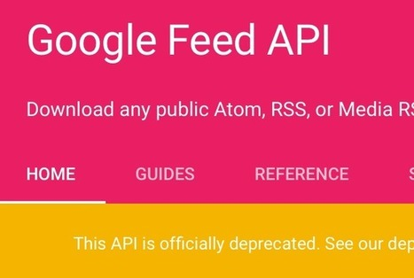 Google Feed API is closing! What to do next (Superfeedr's thoughts) | RSS Circus : veille stratégique, intelligence économique, curation, publication, Web 2.0 | Scoop.it