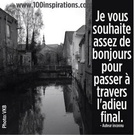 *Je vous souhaite assez! | 100 inspirations | Writing 100 Inspirations | Scoop.it