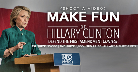 National Contest to Stop Hillary's Attack on Free Speech | State of Freedom | Scoop.it