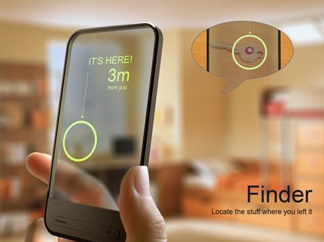 Finder – RFID Locator by Chu Wang, Qiujin Kou, Qian Yin & Yonghua Zhang » Yanko Design | All Technology Buzz | Scoop.it