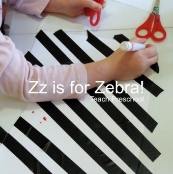 Zz is for a zany zebra | Teach Preschool | Scoop.it