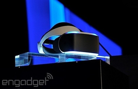 'Project Morpheus' is Sony's virtual reality headset for the PlayStation 4   Virtual Insanity   Scoop.it