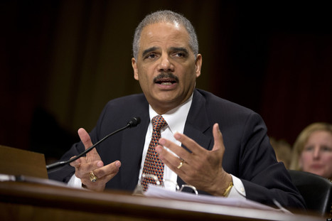 Holder: Banks Too Big To Prosecute | #ows | Scoop.it