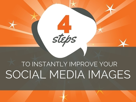 How to Improve Your Social Media Images in 4 Easy Steps | Social Business | Scoop.it