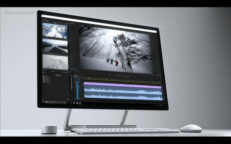 Microsoft debuts Surface Studio, an all-in-one desktopPC | Software and Services - Free and Otherwise | Scoop.it
