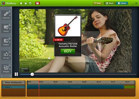 ClickBerry Interactivity Creator - Un logiciel Mac et PC pour rendre vos vidéos interactives | TICE & FLE | Scoop.it
