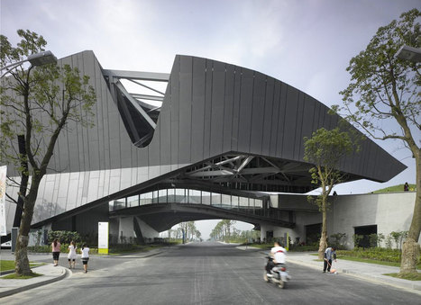 Giant Campus Project | Morphosis Architects | sustainable architecture | Scoop.it