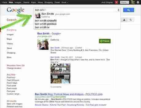 Quel sera l'impact de l'intégration de Google+ dans les résultats de recherche ?   SocialWebBusiness   Scoop.it