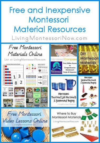 Montessori Monday – Free and Inexpensive Montessori Material Resources | Montessori Inspired | Scoop.it