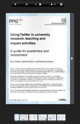 Available now: a guide to using Twitter in university research, teaching, and impact activities | Social media and higher education | Scoop.it