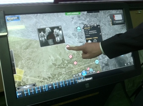 Giant tablet lets commanders control war with the swipe of a finger   Evolution Utilities   Scoop.it
