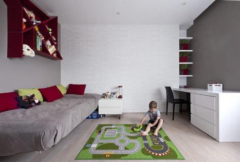 Modern Apartment Interior by Allexandra Fedorova | 2012 Interior Design, Living Room Ideas, Home Design | Scoop.it