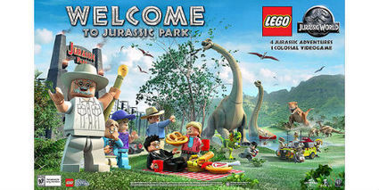 LEGO Jurassic World Game Trailer released | myproffs.co.uk- gaming news | Scoop.it