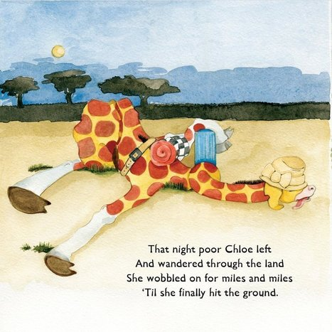 Chloe the curly necked giraffe | Facebook | Tessa Winship.com Children's Picture Books | Scoop.it