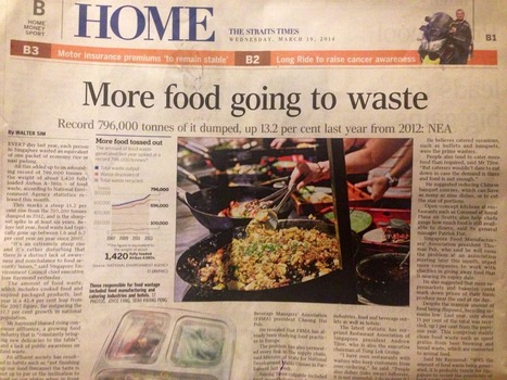 Food Waste In Singapore Going Up | Trends in Sustainability | Scoop.it