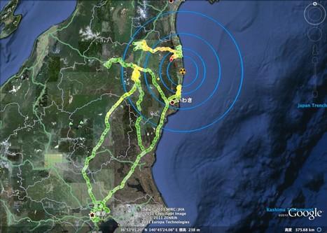 [Eng] Les niveaux de radioactivité selon Safecast | Japon : séisme, tsunami & conséquences | Scoop.it