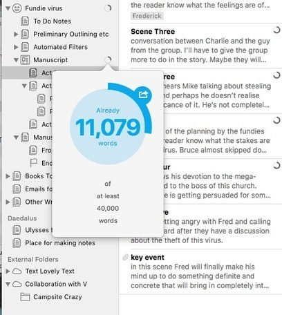 Ulysses for Writers - Mac and iOS - Mac20Q | Using the Mac | Scoop.it