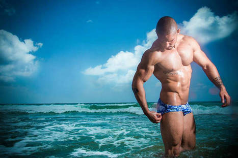 Daniel Azulay Shirtless by Lëo Castro | FlexingLads | Scoop.it