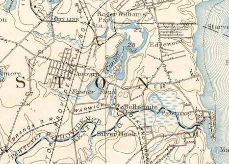 Historic USGS Maps of New England & New York | Geography Education | Scoop.it