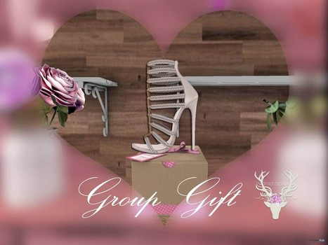 Marian Heels With 25 Colors HUD Group Gift by PHEDORA | Teleport Hub - Second Life Freebies | Second Life Freebies | Scoop.it