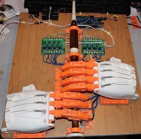 3D printed e-NABLE hands help bagpipe-playing robot hit all the right notes | Raspberry Pi | Scoop.it