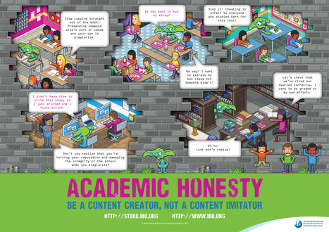 NEW—Academic honesty poster | Secondary School Library Innovations | Scoop.it