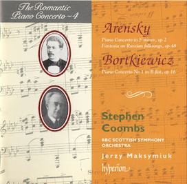 Odeon: Arensky, Bortkiewicz - Piano Concertos - Coombs (Romantic ... | Listen to Concerts Online | Scoop.it