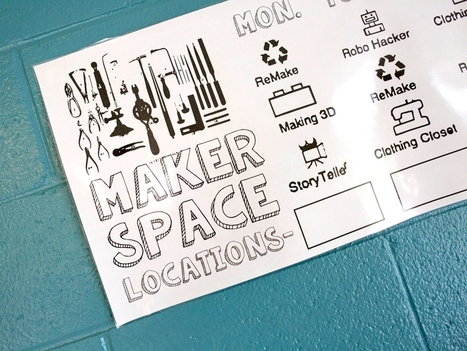 Pop Up and Make: Student-Designed and Facilitated Makerspaces | EdTech_Gal | Scoop.it