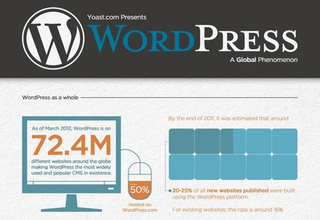 20+ High Quality WordPress Infographics and Cheat sheets   cms_joomla   Scoop.it