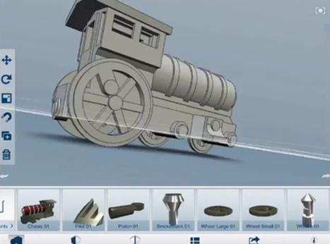 Autodesk Releases 123D Design, A New 3D-Modeling App | 3D Curious & VFX | Scoop.it