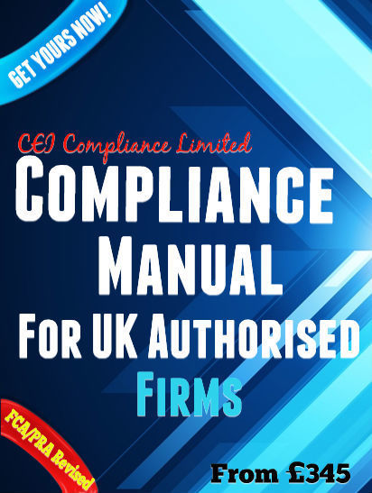Fca Compliance Manual Template  Financial Serv