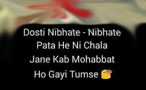 Best Friend Shayari In Hindi Language Images