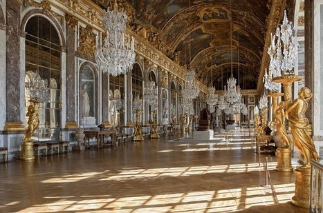 Commons Picture of the Day: Empty Hall of Mirrors in Versailles | Museums & Wikipedia | Scoop.it