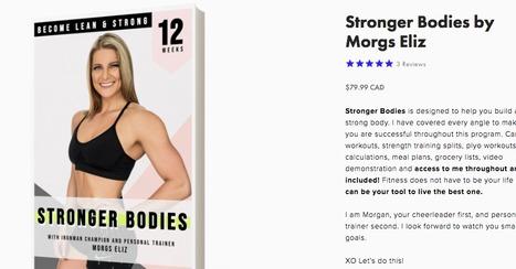 Stronger Bodies par Morgz Eliz Téléchargement PDF gratuit | Guide de perte de fitness | Prenez-le