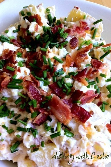 Loaded Baked Potato Salad | Recipe Ideas | Food123 | Scoop.it