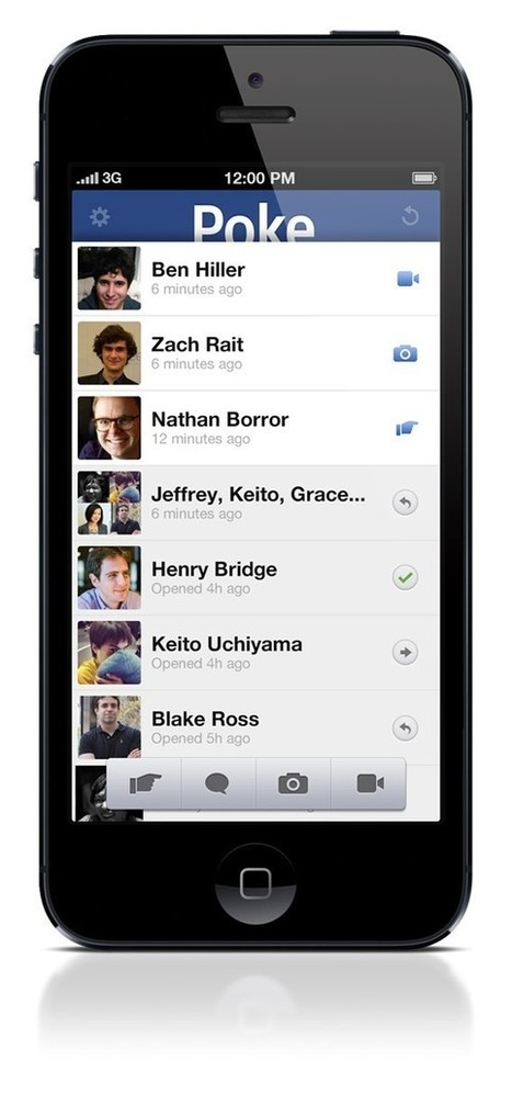 Facebook's New App Isn't Just for Sexting | Ed-Tech Trends | Scoop.it