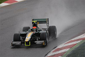 GP2: Rossi tops GP2 test at wet Barcelona | Motores | Scoop.it