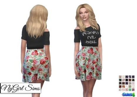 553eb4c2e0c NY Girl Sims  Heart and Soul Floral Dress