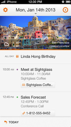Siri's Cousin 'Tempo Smart Calendar' Uses iPhone Data to Provide ... | iPhones and iThings | Scoop.it
