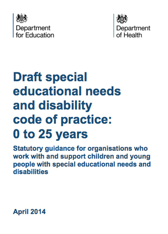 The Revised SEN Code of Practice has Arrived - Special Needs Jungle   Inclusive Education   Scoop.it