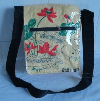 Eco friendly Mini Shoulder Bag, handmade ethically | Eco-Friendly Messenger Bags By Disabled Home Based Workers. | Scoop.it