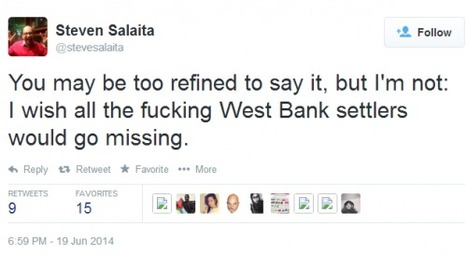 Smeared by Salaita | Martin Kramer on the Middle East | Scoop.it