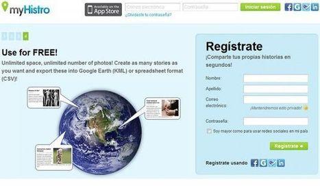MyHistro, utilidad gratuita para crear líneas de tiempo interactivas sobre mapas de Google | CEREGeo - Geomática | Scoop.it