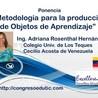 Objetos de Aprendizaje y su metodología de desarrollo